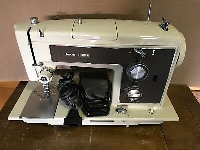 VINTAGE KENMORE SEARS Model 4040 Sewing Machine 4040 PicClick Amazing How To Thread A Sears Kenmore Sewing Machine Model 2142