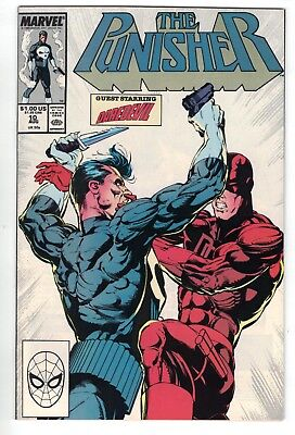 The Punisher #10 • Fan favorite cover • NM+ gem (Aug 1988)