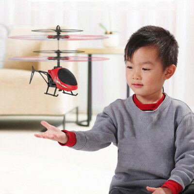 Mini Rc Helicopter Radio Remote Control Aircraft Channel Micro Drone Kids Gift