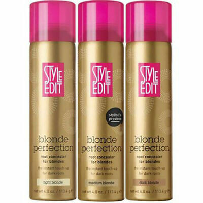 Style Edit Blonde Perfection Root Concealer for Blondes  4 oz. Your Choice.
