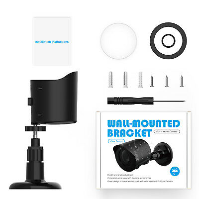 TOP YI Home Camera Wall Mount Weatherproof Protective Cover / 360 Degree Bracket