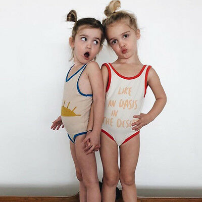 Newborn Toddler Baby girls Summer Swimsuit Swimwear Bikini Bathing Suit Outfits