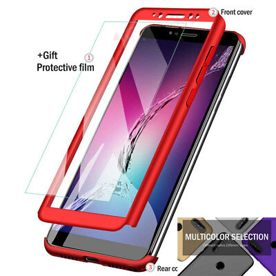360° Full Cover Hybrid Hard Case for Redmi Note 5 Pro/5 Plus/6 A1 A2 Slim Cover