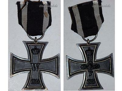 Germany WWI Iron Cross EK2 Decoration Military Merit 1914 18 Mkr L German Award