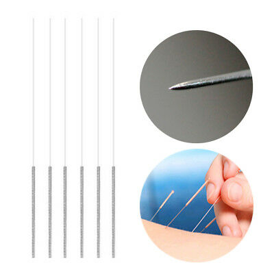 100Pcs Disposable Medical Sterile Acupunture Needles Body Health Care Supply