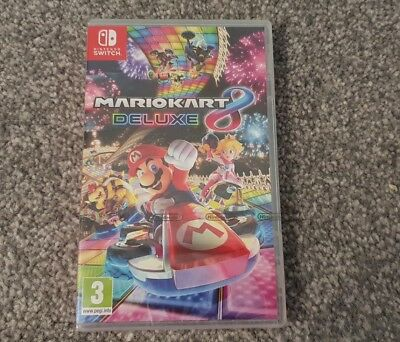Mario Kart 8 Deluxe Nintendo Switch Game New And Sealed