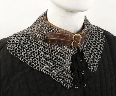 Chainmail Standard - Bishop's Mantle - Butted High Tensile Wire Rings