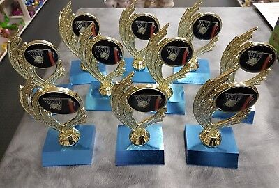 10 x  150mm Netball Trophies Discontinued Range.