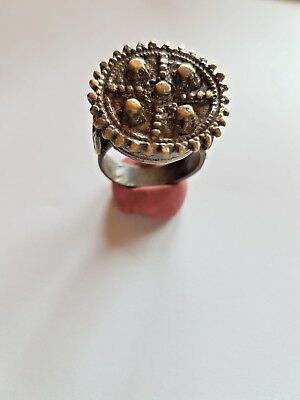 Ancient Roman Bronze   Ring Seal-in original style