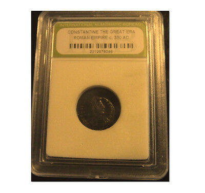 Constantine The Great Ancient Slabbed Coin .330 A.d.