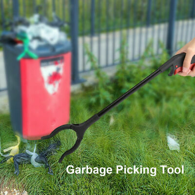 45cm Long Arm Grabber Pick Up Reaching Picking Tool Trash Garbage Picker Clip