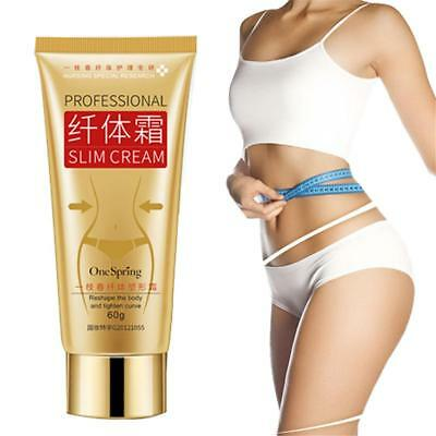 60g Slimming Cream Cellulite Removal Cream Fat Burning Muscle Weigth Loss 1pc