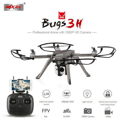 MJX Bugs 3H B3H RC Quadcopter Brushless Motor Altitude Hold Drone 5G WIFI Camera