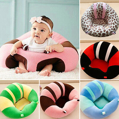 Baby Learning To Sit Chair Infant Support Seat Sofa Plush Pillow Feeding Chairs