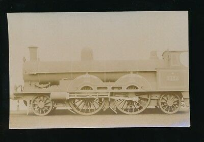 Railway LNW engine #3435 QUEEN EMPRESS c1900s? RP PPC by Pouteau