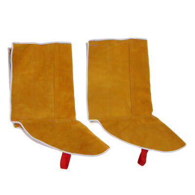 2pcs Protective Shoes Cover Welding Gear Legs Protector Protect Welder Gear