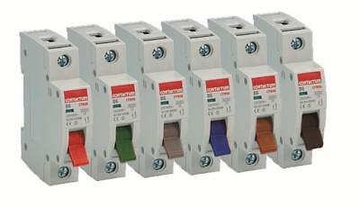 CONTACTUM Single Phase 6kA B Type MCB Circuit Breakers From 6A to 63A