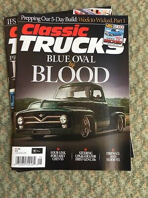 Classic Trucks back Issues, new-old-stock. April & May 2018