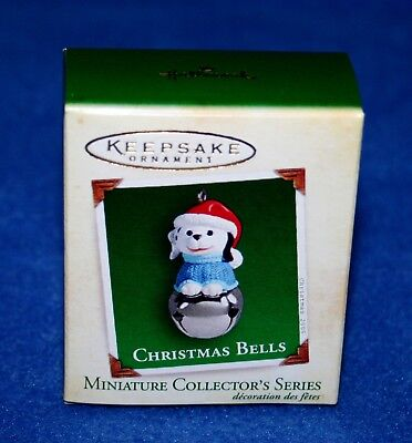 "Hallmark 2005  ""christmas Bells"" #11 In Series Miniature Keepsake Ornament (Nib)"