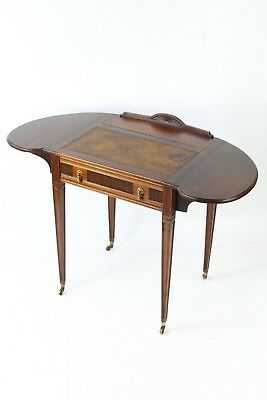 Edwardian Ladies Writing Desk Davenport Bureau Glasgow Arts Craft Mahogany Table