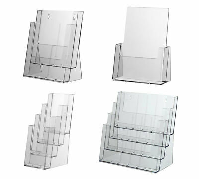 Leaflet Holders Table Top Brochure Stands Flyer Dispenser A4 A5 & DL
