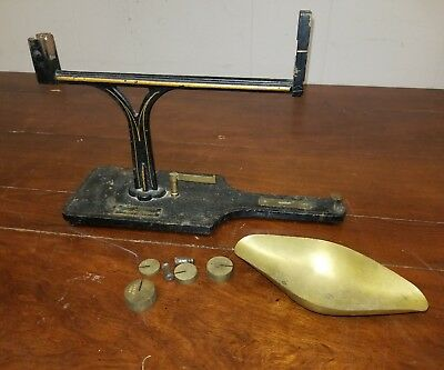 Antique Henry Troemner Scale Parts