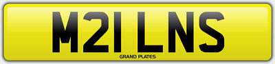 Miln Milne Milns Milnes Number Plate Milner M21 Lns Car Reg No Added Fees To Pay