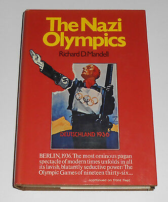 NAZI OLYMPICS Richard Mandell First Edition 1936 Olympic Games Hitler Jesse Owen