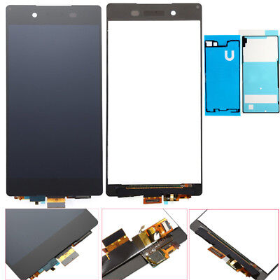 LCD Display Touch Screen Digitizer Assembly +Adhesive For Sony Xperia Z4 E6553