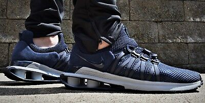 newest 38e75 f2902 Nike Shox Gravity NEW Mens Running Shoes AR1999 402 150 Obsidian Navy Gray