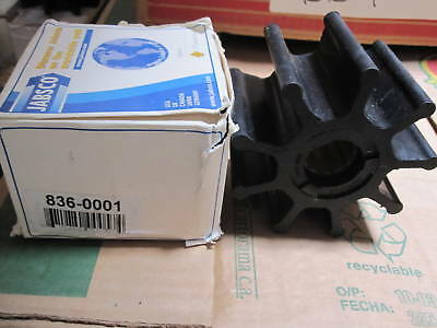 836-0001 Jabsco Impeller Neoprene