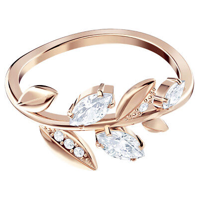 8e4c88b5d Mayfly Ring White Rose Gold Plating Size 8 Eur 58 2018 Swarovski Jewelry  5441198