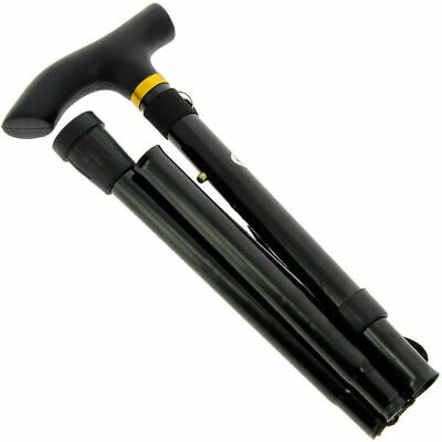 125cm long Visually Impaired White Blind Walking Stick Folding Aluminium Cane