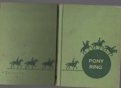 Horse Book Pony Ring Sarah Derman First Edition