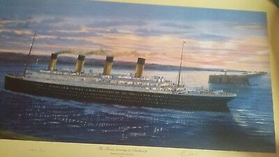 Mid Channel April 10th 1912 Cherbourg Bound mounted Titanic Simon Fisher