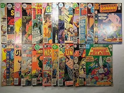 DC Bronze Age Comics Lot of 25 Justice League Swamp Thing