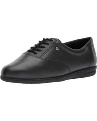 Easy Spirit Womens Motion Leather Low Top Lace Up Fashion Sneakers