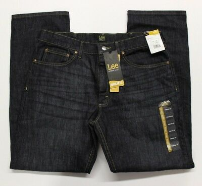 Men's Lee Premium Select Regular Fit Blue Jeans (2001965) Manifesto