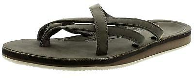 df6a7c82c0e825 Teva olowahu Womens Flat Sandals Black Olive 6 US   4 UK