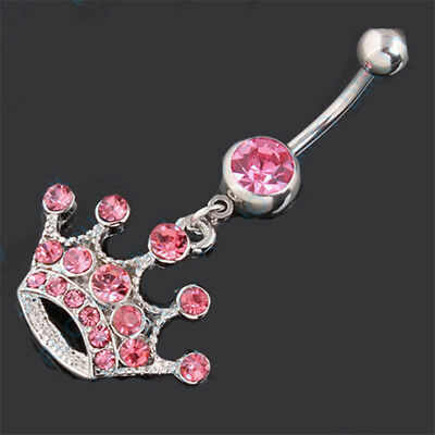 5 10pcs Candy Belly Button Ring Body Jewelry Acrylic Round Navel