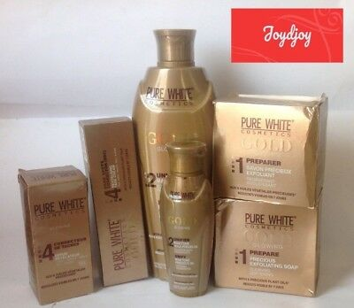 Pure White Gold Glowing Lotion 400Ml/ Oil/ Serum/ Soap