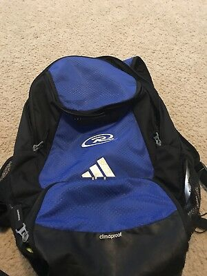 ADIDAS STADIUM TEAM Backpack Soccer Bag Blue - Rush Logo -  30.00 ... 55129e3ffe2cd
