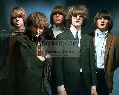 """""""The Byrds"""" American Rock Band - 8X10 Publicity Photo (Ab-121)"""