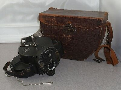 Bell & Howell Filmo Automatic Cine Camera 16mm w/ Case and Key