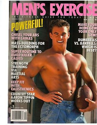 MEN'S EXERCISE BODYBUILDING workout muscle magazine/MARTIAL ARTS MASTERY  12-92