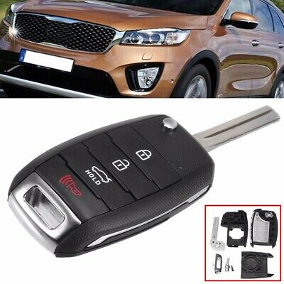 4Button Remote Key Fob Case Shell For KIA Sorento Soul Optima Carens Sportage us