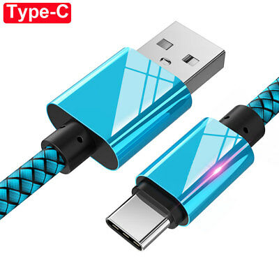 For Samsung Note9 S9Plus USB Type C Charging Data Sync Charger Cable for P20Lite