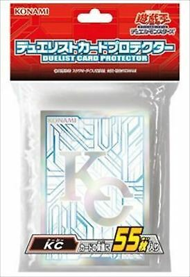 ☆F/S☆Yugioh Official Card Sleeve Protector : KC Kaiba Corp / 55pcs japan NEW!!