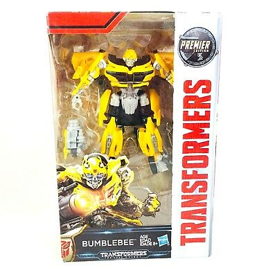 Transformers The Last Knight Premier Edition Deluxe Bumblebee Courageous Scout