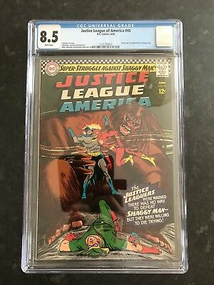 Justice League Of America #45-1st Appearance Of Shaggy Man
